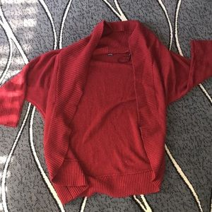 Forever 21 cute maroon cardigan